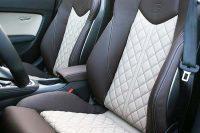 Audi TTS Middenbanen Buffalino Leder Wit