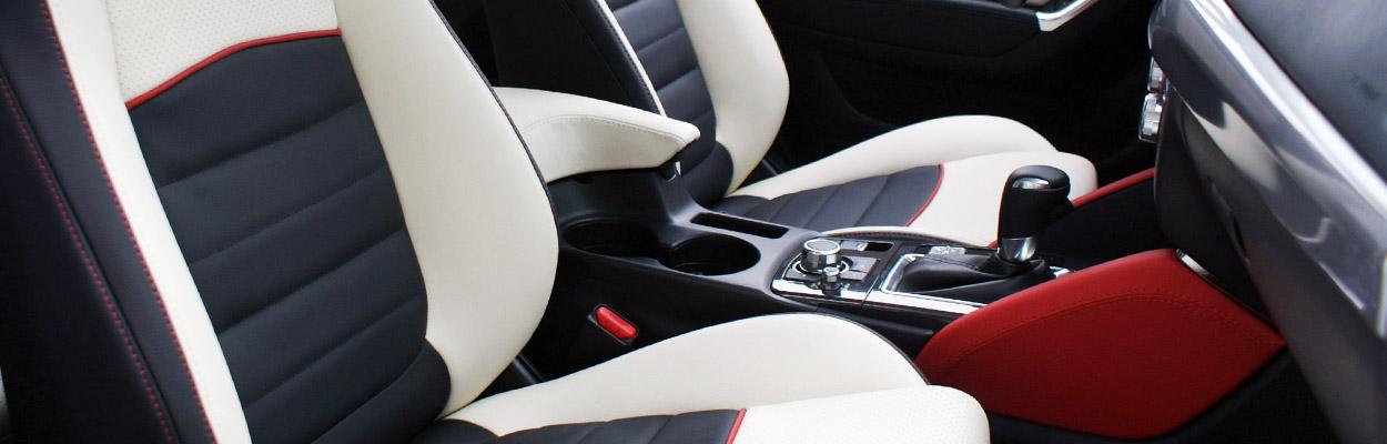 Alba Lederen Auto Interieur Mazda CX5