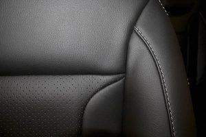 Perforeret sort Alba eco-læder