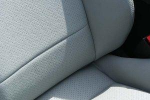 Perforeret Titaniumgray Alba eco-læder
