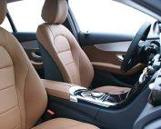Mercedes C350 Buffalino Truffelbruin Voorstoelen