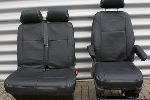 Volkswagen Transporter protective vehicle seat cover Alba Automotive 05