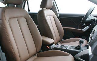 Audi Q2 Buffalino Leder Nougat Bruin Voorstoelen